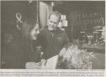 Alex Rosenstein (Left) and Steve Lawson (Right) Celebrate 20th Anniversary of Christmas in the Northweset